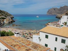 Cala San Vicente: View To Sea
