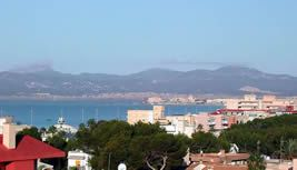El Arenal: View Towards Playa de Palma